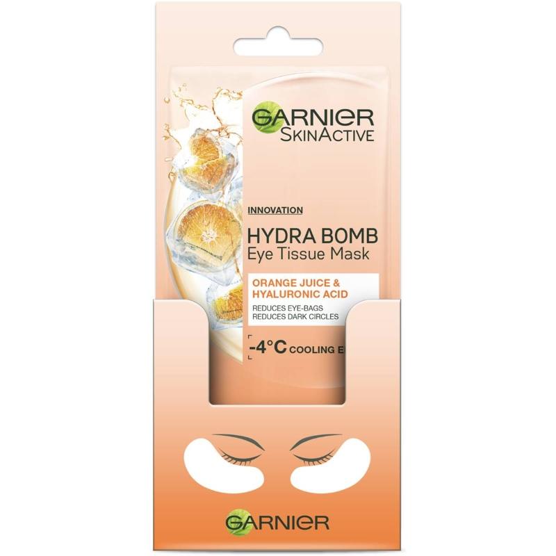 Mặt nạ mắt Garnier Eye Tissue Mask Hyaluronic Acid & Orange each