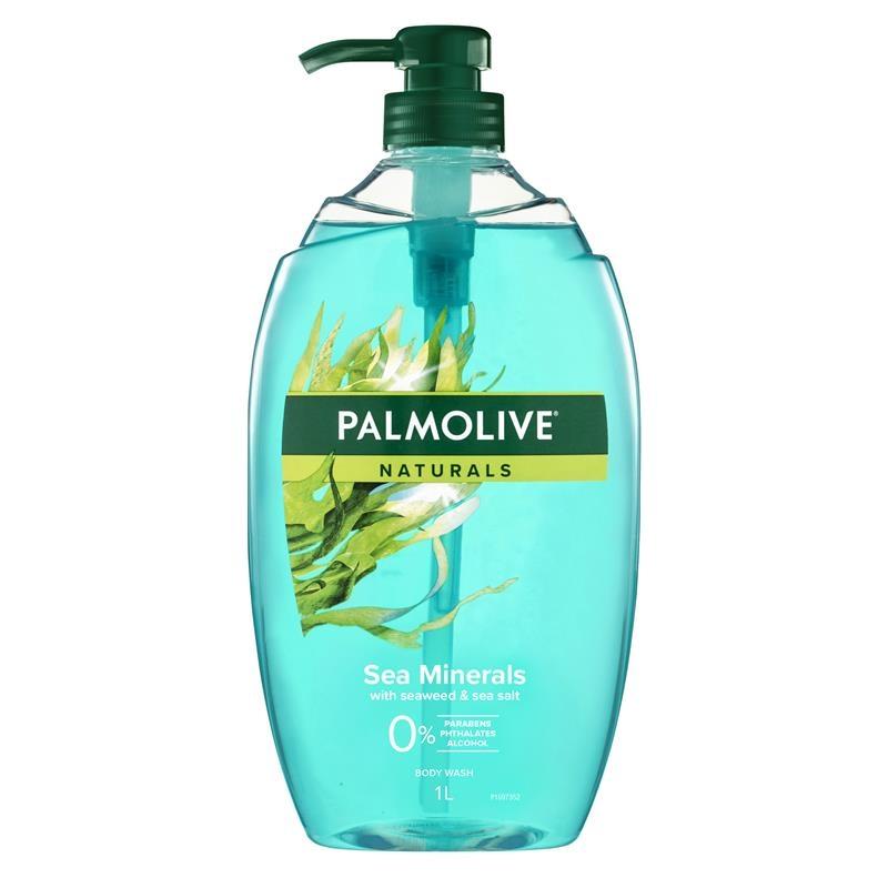 Palmolive Naturals Body Wash Sea Minerals Shower Gel 1L