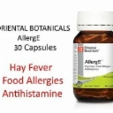 ORIENTAL BOTANICALS AllergE 30 Capsules ( Natural Allergy & Hayfever Relief )