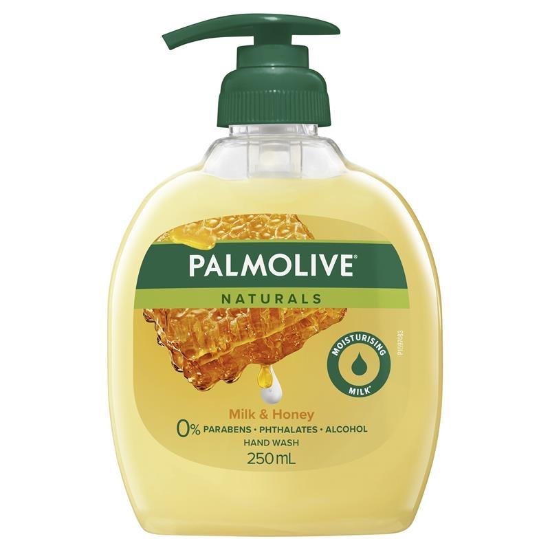 Palmolive Naturals Nourishing Liquid Hand Wash Milk & Honey Pump 250mL
