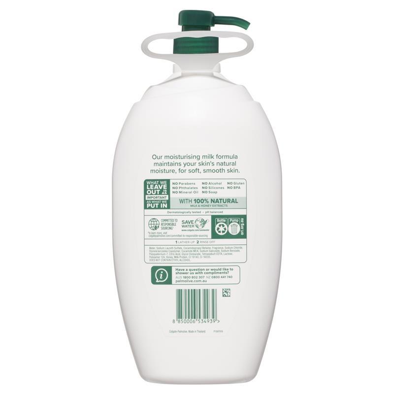 Palmolive Naturals Body Wash Milk & Honey Shower Gel 2L