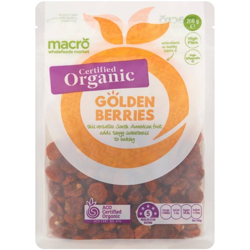 Macro Golden Berries 200g