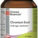 Chromium Excel 60 Tablets Oriental Botanicals