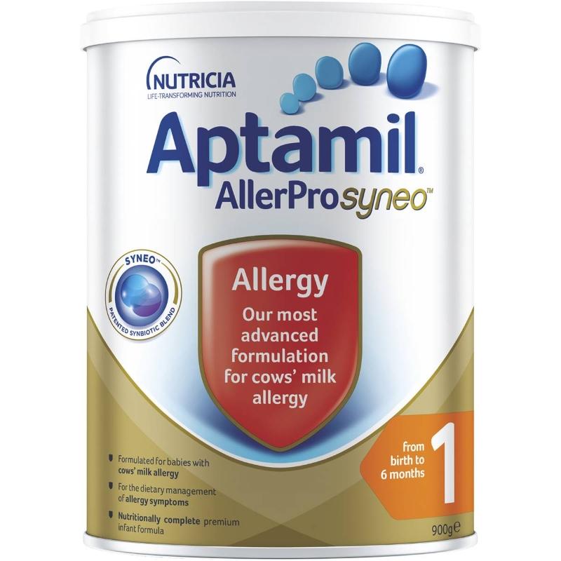 Aptamil Allerpro Syneo 1 Baby Formula Allergy From Birth To 6 Months 900g