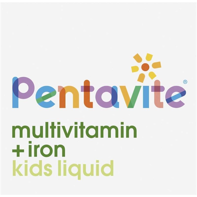 Pentavite Multivitamin+iron Kid Liquid 200ml