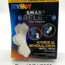 Icy Hot Smart Relief Tens Therapy Knee & Shoulder Refill 2 Pads Collectible READ