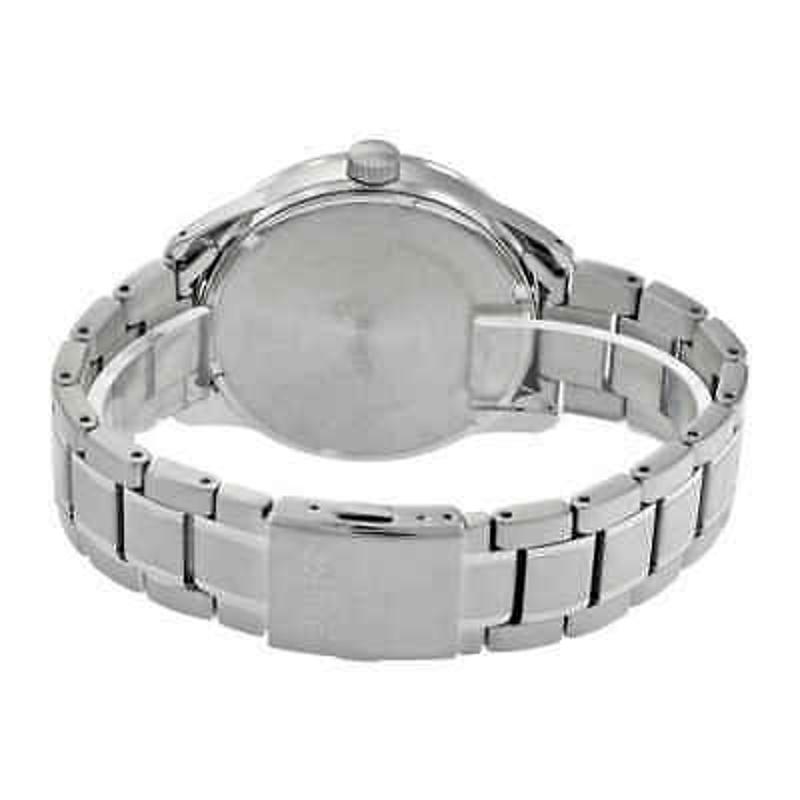 Seiko Solar Blue Dial Stainless Steel Men's Watch SNE361