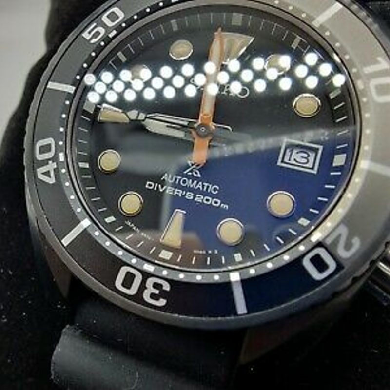 SEIKO Divers Watch Prospex Sumo Black Series SPB125J1 LIMITED EDITION