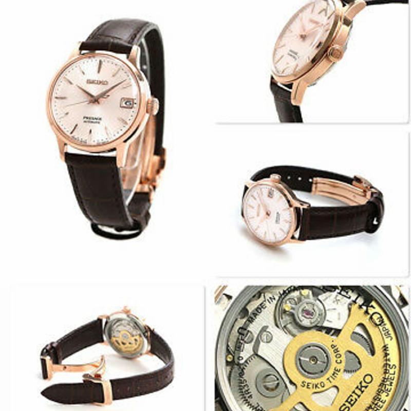 SEIKO PRESAGE SRRY028 Automatic Mechanical Elegant Women`s Watch Made in JAPAN