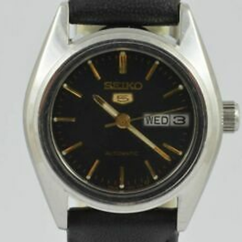 Seiko Automatic Women's Watch 26MM Steel Vintage Nice Condition Day Date