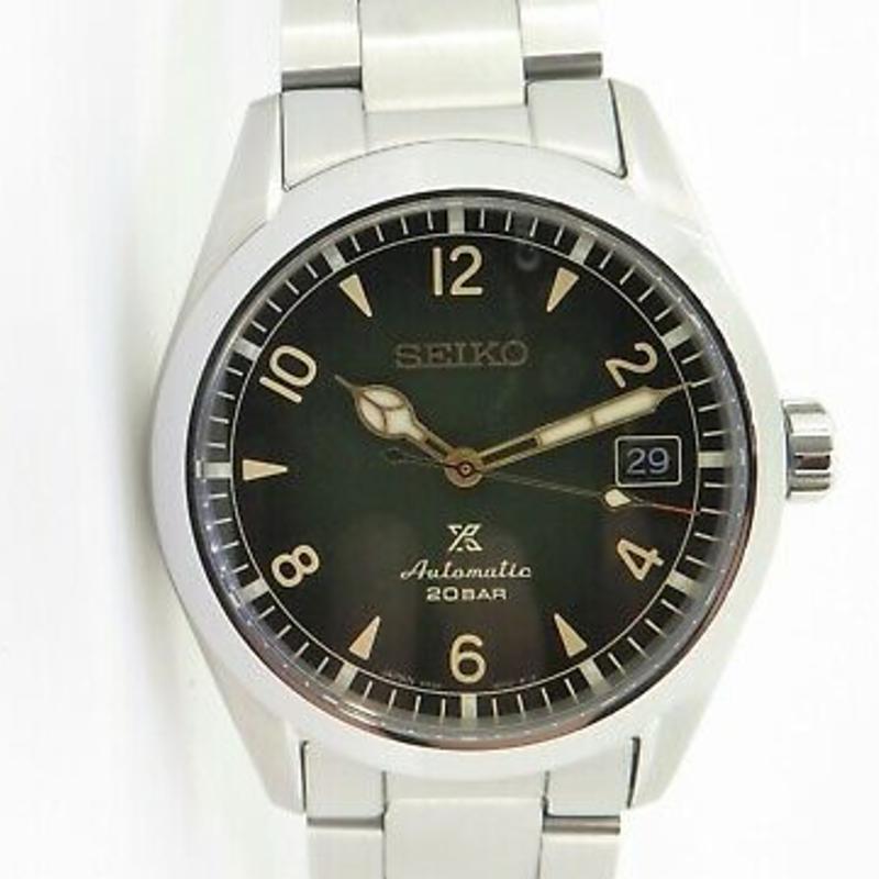 .Auth Seiko Prospex Alpinist 200m Wrist Watch 6R35 01BO SPB155J Box & Docs