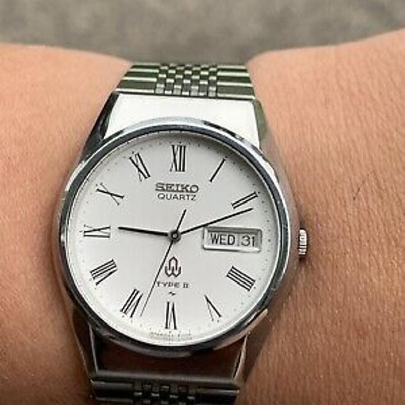 Vintage 1979 Seiko Type 2 Quartz Watch