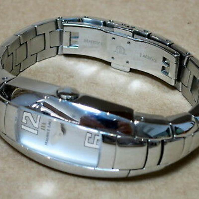 MAURICE LACROIX 32859 STAINLESS STEEL QUARTZ WATCH INTUITION
