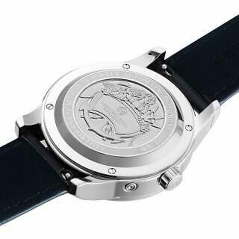 Melbourne Watch Company Mens Portsea Calendar Navy Automatic Watch