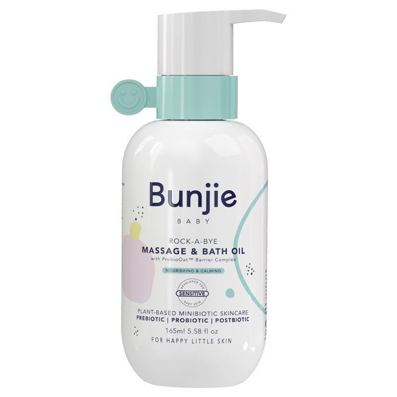 Dầu massage & tắm cho bé Bunjie Massage & Bath Oil 165ml