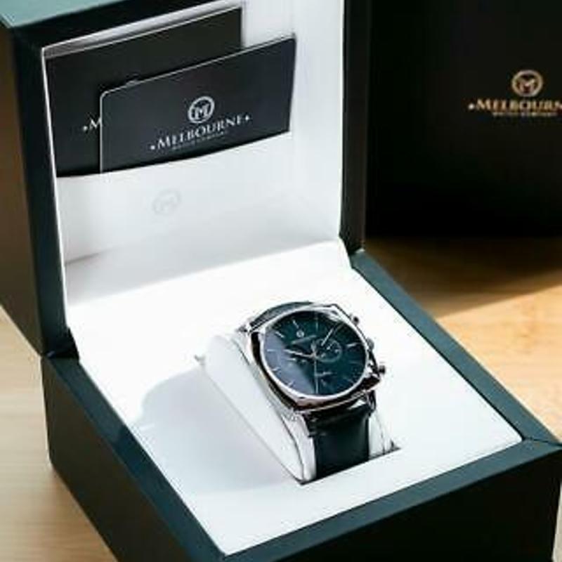 Melbourne Watch Company Mens Carlton Black Watch