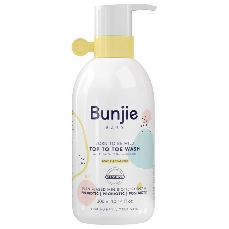 Sữa tắm gội toàn thân Bunjie Top to Toe Wash 300ml