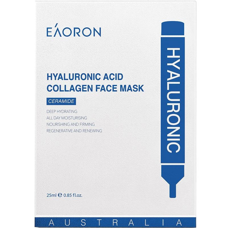 Mặt nạ Eaoron Hyaluronic Acid Collagen Hydrating Face Mask 25ml 5 Piece