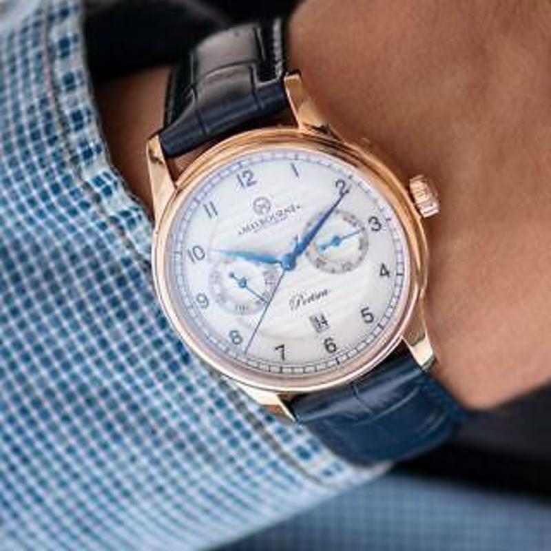 Melbourne Watch Company Mens Portsea Calendar Classic Rose Watch