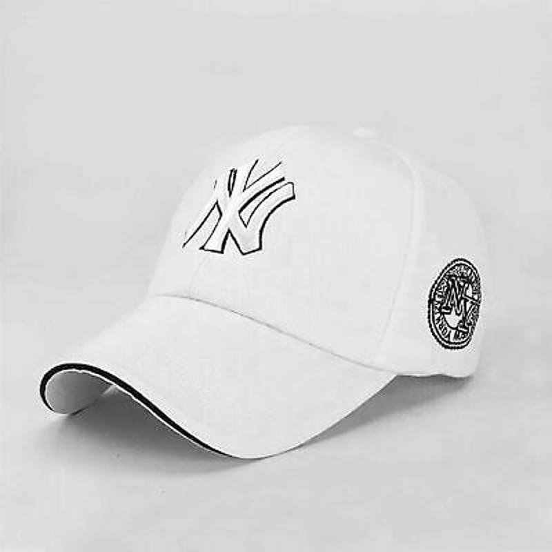 NEW Unisex NY Mens Womens Baseball Adjustable Hat Sport Snapback Hip-Hop Sun Cap