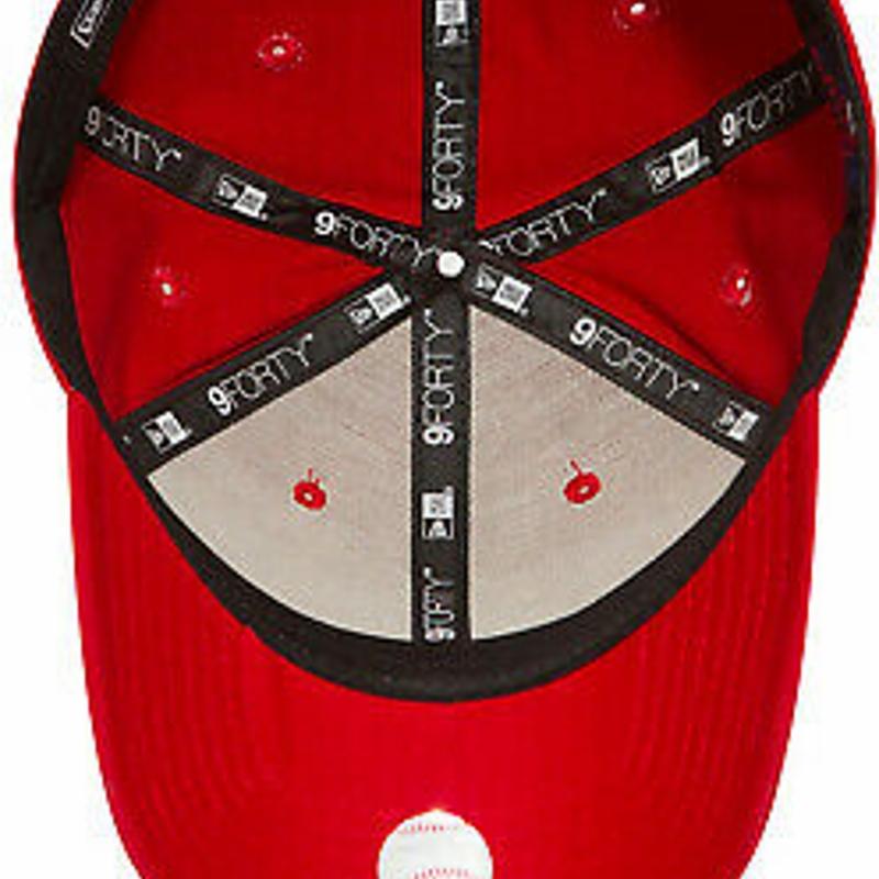 NY Yankees New Era 9Forty League Basic Red Baseball Cap