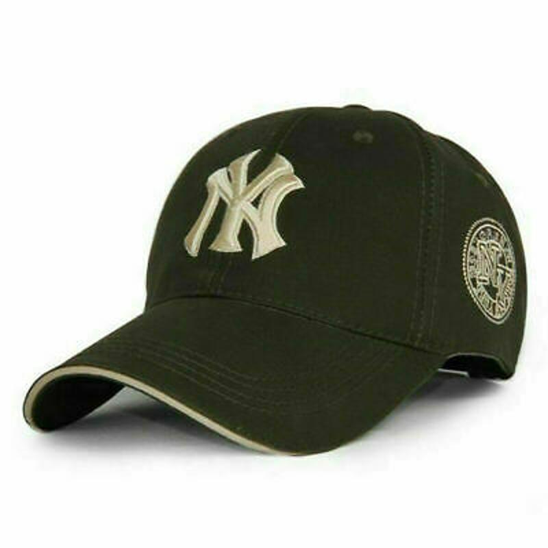 NEW Unisex NY Mens Womens Baseball Mens Women Hat Sport Snapback Hip-Hop Sun Cap