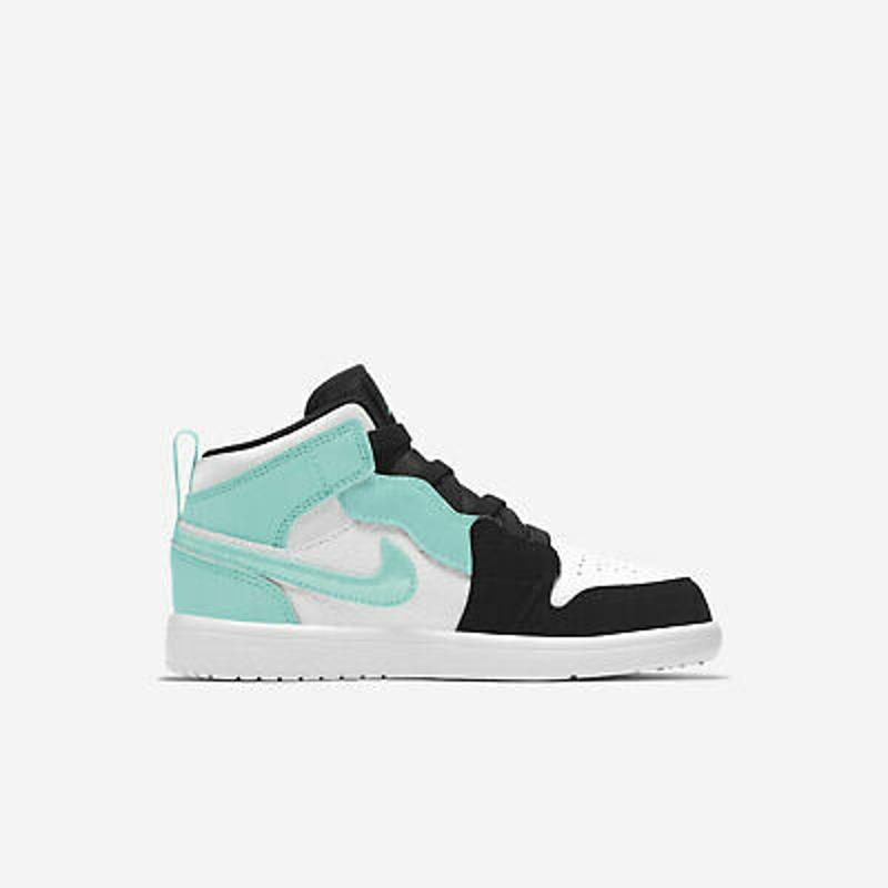 Nike Jordan 1 Mid ALT PS [AR6351-132] Kids Casual Shoes White/Tropical Twist