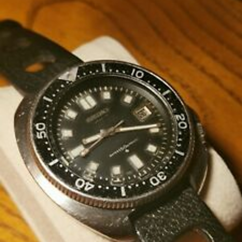 Seiko 6105-8110 6105b 3/1975 Apocalypse Now Captain Willard Vintage Diver watch