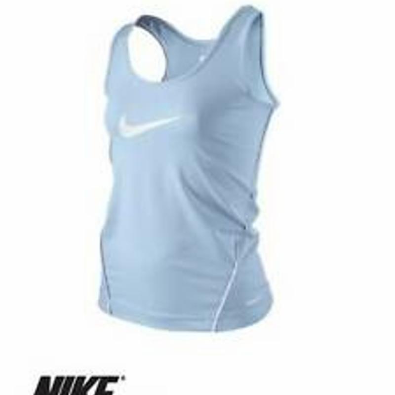 Authentic NIKE Girl's Junior Dri-FIT Active Vest Tank Top