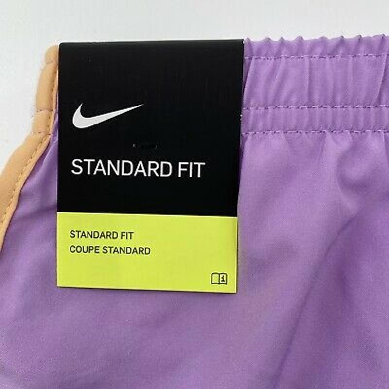 Nike Girl's Violet Purple/White Dri-FIT Tempo Running Shorts 848196-589 Size L
