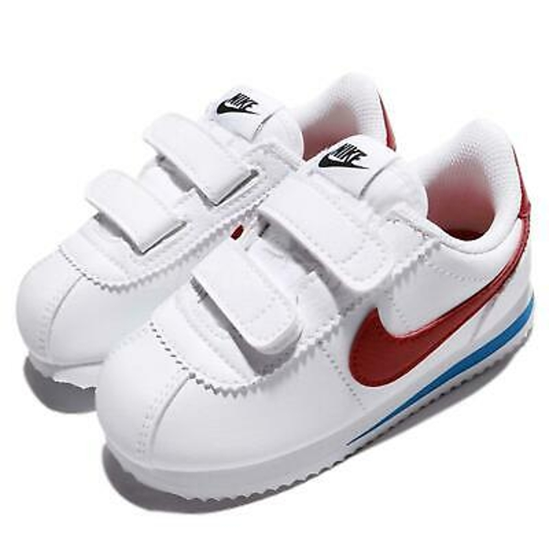 Nike Classic Cortez Leather OG Family Size White Red Blue Lifestyle Shoes Pick 1