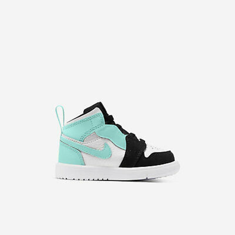 Nike Jordan 1 Mid ALT TD [AR6352-132] Toddlers Casual Shoes White/Tropical Twist