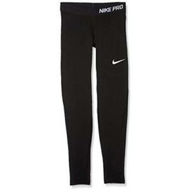 Nike Girls Black Pro Warm Pants Size Large 73342