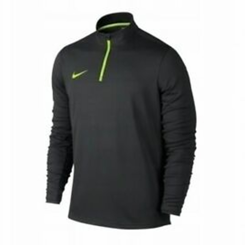 NIKE BLUZA DRI FIT ACADEMY DRILL TOP 1/4 ZIP GRAY 820709-060 YOUTH SIZE M