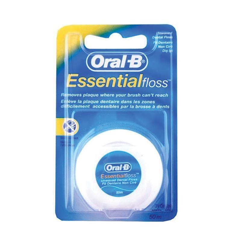 Chỉ nha khoa Oral B Essential Floss Original 50m