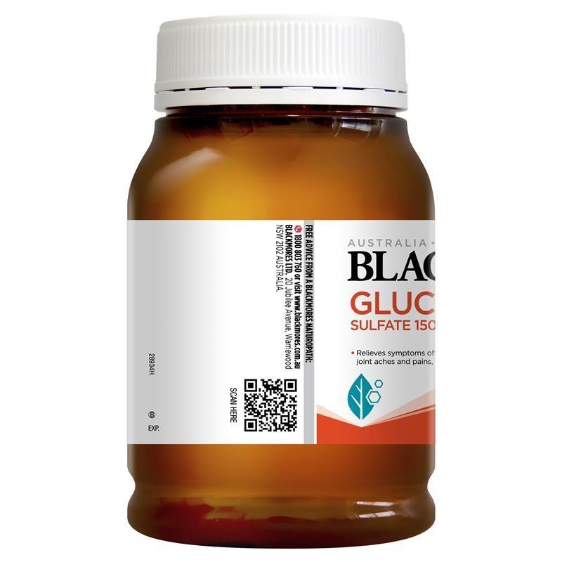 Viên uống bổ xương khớp Blackmores Glucosamine Sulfate 1500mg One-A-Day 180 Tablets