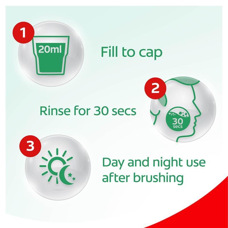 Nước súc miệng Colgate 1L Colgate Plax Alcohol Free Antibacterial Mouthwash Freshmint 1L