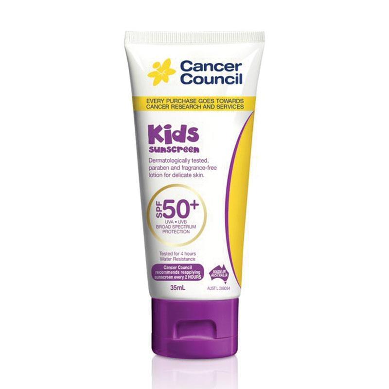 Kem chống nắng cho bé Cancer Council SPF 50+ Kids 35ml Tube