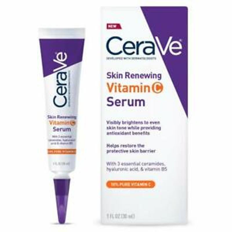 CeraVe Skin Renewing Vitamin C Serum 1 oz.