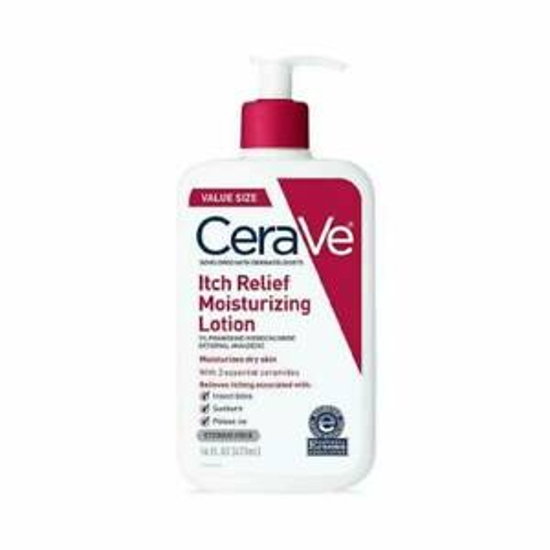 CeraVe Itch Relief Moisturizing Lotion 473ml (Developed with Dermatologist)