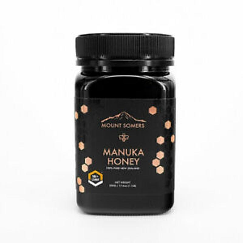 Mount Somers Manuka Honey UMF18+ MGO 800 500g Pure New Zealand Chemical Free