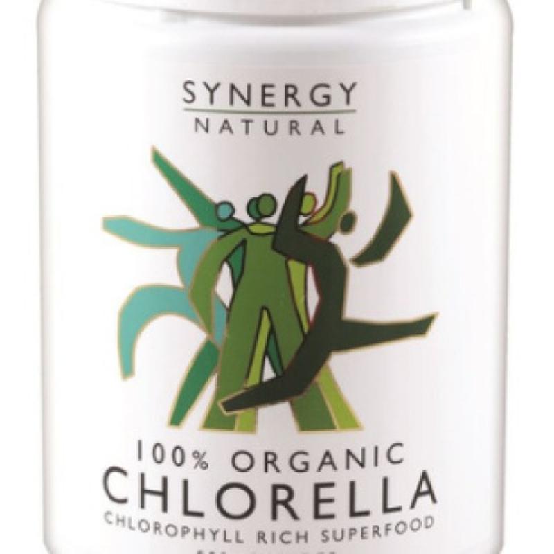 Synergy Natural Organic Chlorella Powder 500g