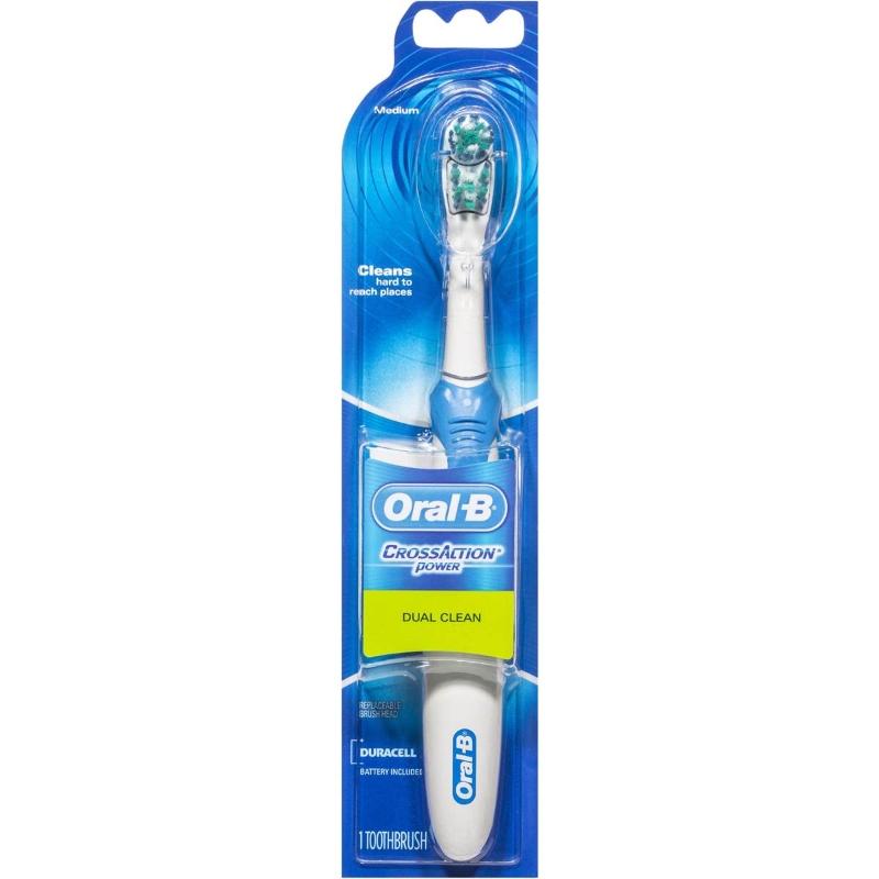 Bàn chải đánh răng Oral-b Crossaction Dual Clean Power Electric Toothbrush medium