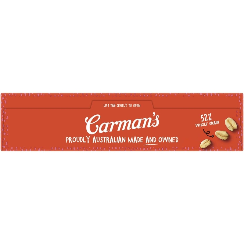 Carman's Strawberry & Cream Aussie Oat Bars 6 pack