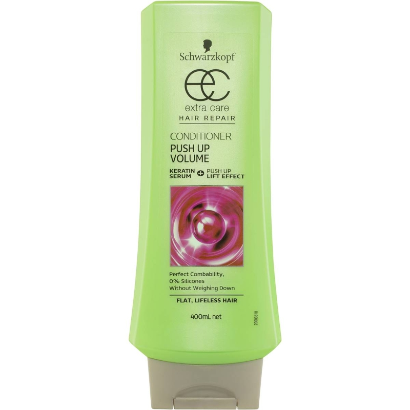 Schwarzkopf Extra Care Conditioner Push Up Volume Hair Repair 400ml