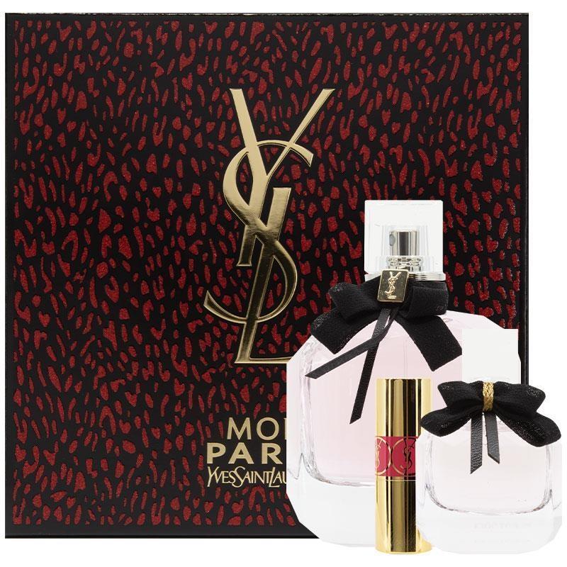 Yves Saint Laurent Mon Paris Eau de Parfum 90ml 3 Piece Set