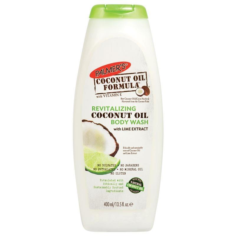 Palmers Coconut Oil Formula Lime Body Wash Revitalising 400ml