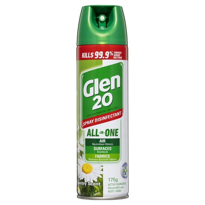 Glen 20 Spray Disinfectant Country Scent 175g
