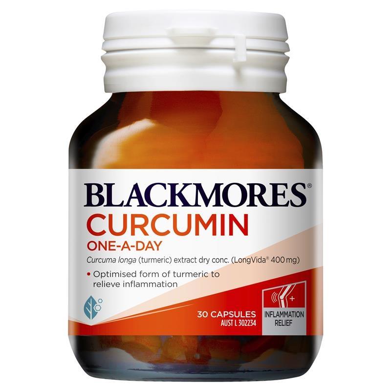 Viên uống tinh chất nghệ Blackmores Curcumin One A Day 30 Capsules