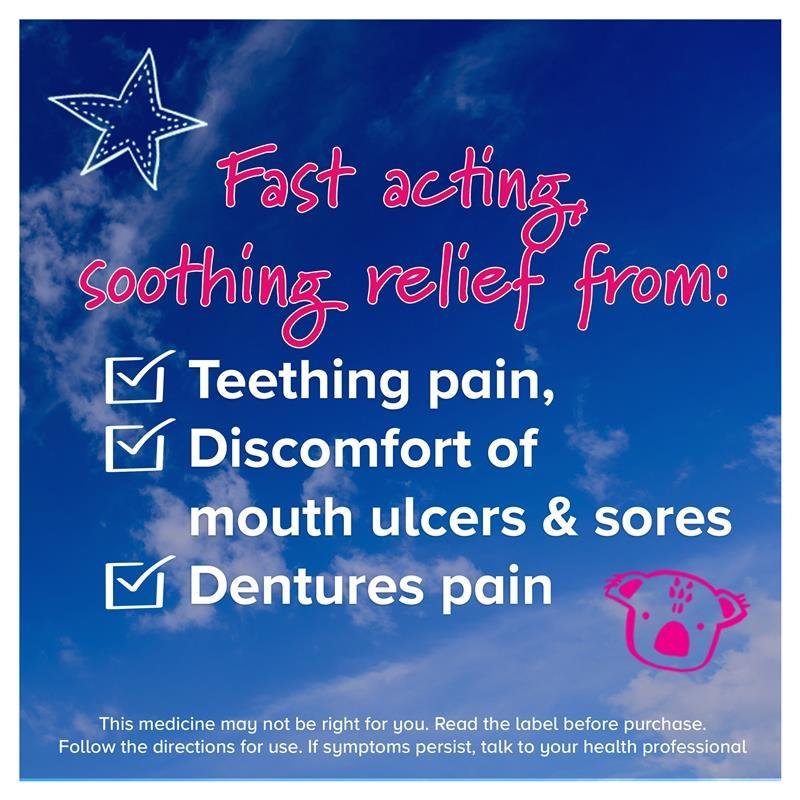 Gel bôi giảm đau mọc răng cho bé Bonjela Teething Gel Fast Acting 15g